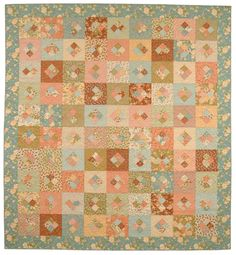 """Four-Patch Frolic - Quilts from 5"""" and 10"""" Squares e-Book"""
