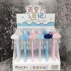 School Suplies, Kawaii Pens, Cute Pens, Cute School Supplies, Kawaii Accessories, Kawaii Stationery, Crafts For Girls, Too Cool For School, Gel Pens