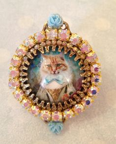 Big ring Royal cat  by lorenza33 on Etsy, $37.00
