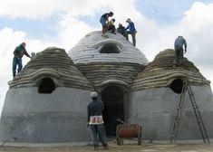 Image result for earthbag building