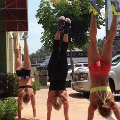 Push Jerks  Handstand walks, Thank God it's Friday! #crossfit #friday #handstand #jerk #whohasrealjobs #Danswives #crossfitgirls @danwells777 @thisgirhope @ms_daniellelee @Rachelle Wells - http://girlsworkhard.com/push-jerks-handstand-walks-thank-god-its-friday-crossfit-friday-handstand-jerk-whohasrealjobs-danswives-crossfitgirls-danwells777-thisgirhope-ms_daniellelee-rachellewells/