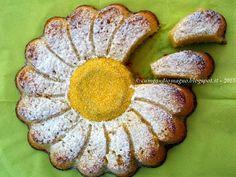 Margherita di mais e mandorle con ricotta e limone