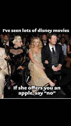 Disney/ Blake Shelton and Miranda Lambert Joke