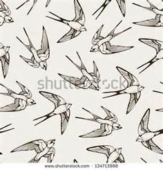 swift bird line drawing - Yahoo Image Search results Bird Line Drawing, Fly Drawing, Mouth Drawing, Bird Drawings, Drawing Birds, Swift Bird, Tatuagem Old School, Tattoo Sleeve Designs, Vintage Birds