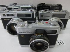 FC5-574BB ヤシカ等フィルムカメラ 5台セット ジャンク - ヤフオク!   YASHICA  ELECTRO35 GSN YASHICA  ELECTRO35 GTN YASHICA  ELECTRO35 GSN YASHICA  ELECTRO35 GX FUJICA  DATE