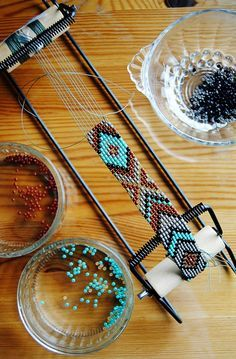 DIY instructions on how to make a unique, beaded native American belt with classic eagle motif | Crafts For Teens