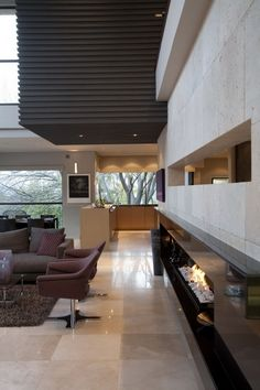 Amazing home in Johannesburg, South Africa, was designed by Nico Van Der Meulen Architects.