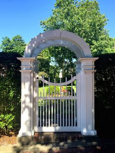 Nantucket home gate