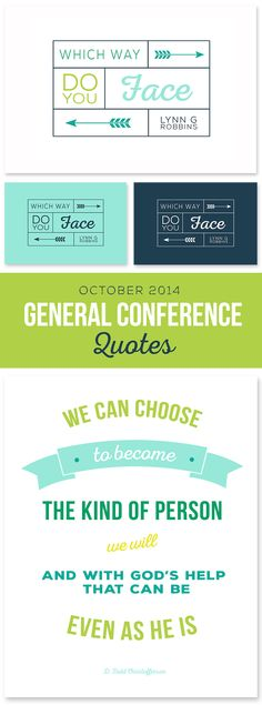 October 2014 General Conference Printable Quotes #LDSConf