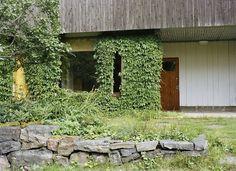 The rear entrance to Alvar Aalto's house, Helsinki, Photo by Estelle Hanania, 2011.