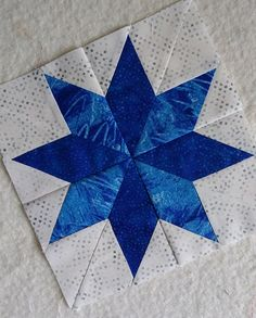 Lemoyne Star Block Quilt Free Pattern