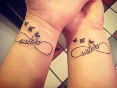 50+ Sister Tattoos Ideas
