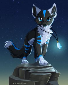 Commission :: GlaciaTheWolf by Kamirah on DeviantArt