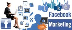 Facebook Marketing services in India! Facebook is well known as easiest and cheap online social media marketing place. You can try Facebook to advertise your business, products, etc.