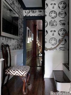 Fornasetti Wallpaper Interior Design And Bikes Pinterest - Piero fornasetti wallpaper designs