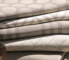 Pindler Weatherscape Collection (Indoor/Outdoor) Patterns Top to bottom: 3702 – Macao is a Signature Exclusive upholstery indoor/outdoor pattern. Banquette Seating, Grey Wallpaper, Fabric Swatches, Top Pattern, Indoor Outdoor, Architecture Design, Upholstery, Dartmoor, Color Stone