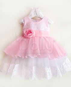 Платье Магали розовое