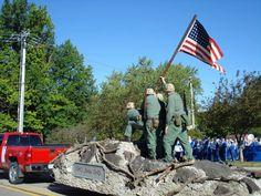 Iwo Jima reinactment