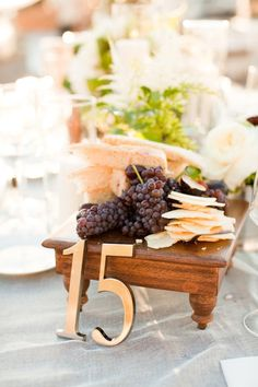 Edible center pieces are perfect for hungry guests... Then you don't have to worry about the arguments about who gets to take it home! Everyone will get a piece in their bellies