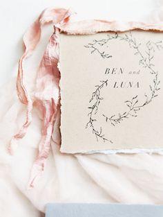 As Ever Photography / Grey Likes Weddings / Wedding Calligraphy Invitation