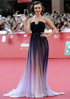 Festival du film de Rome 2014 : Lily Collins dans un look à imiter | Blog officiel de PERSUN.FR