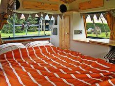 Bed interior vw T3