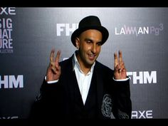 Ranveer Singh at the Bachelor Of The Year Awards 2014.
