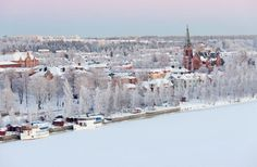 Umea Sweden - my Dad was born here. Hope to see it myself someday!