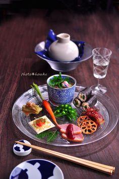 「冷やし茶碗蒸しの前菜」
