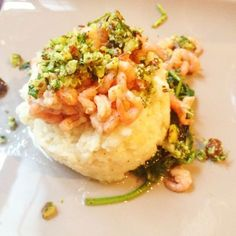Pascale Naessens - garnalen, bloemkool, rucola, hazelnoten - really yum! - Food And Drink For You Pureed Food Recipes, Healthy Recipes, Healthy Cooking, Healthy Eating, What's Cooking, Healthy Food, Healthy Diners, Good Food, Yummy Food