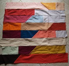 Quilts from the Little House: Big Quilt Flimsy Finish
