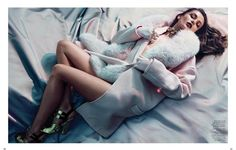 M: Andreea Diaconu, P: Lachlan Bailey, S: Alastair McKimm (Vogue China August 2013)