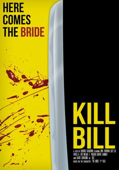 Kill Bill Minimalistic Poster, Unfinished by pedroion