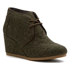 Amazon.com | Tom's Washed Camo Canvas Women's Desert Wedge 10000456 | Fashion Sneakers
