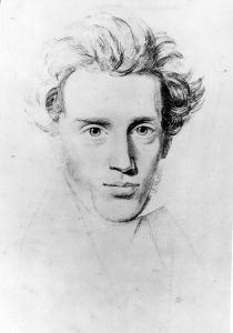 "Søren Kierkegaard: ""Amar y recordar a un difunto"" -- Søren Kierkegaard (1813-1855)"