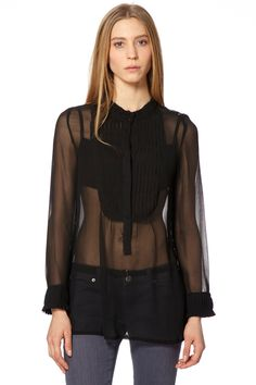 Venda Carling / 8174 / Blusas / Camisa Preto. De 45€ por 15€.