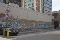 Mural near Chinatown, Philadelphia
