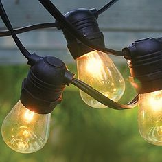 Outdoor Décor Fantado 10 Socket Outdoor Commercial Grade Patio String Light  Set S14 Bulbs 21