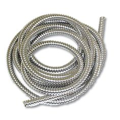 1/4 Dia. x 10 Stainless Steel Flexible Wire Loom