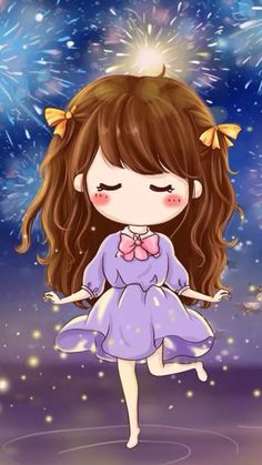 可爱的小薇 壁纸 头像 女生 可爱 Q版 人物