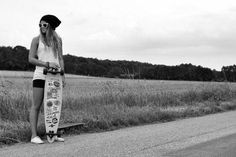 Summer longboarding. Wish I was good at that cuz it looks really cool. I would just fall on my face.all the time.
