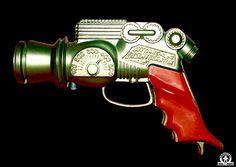 "Image search results - ""cap firing raygun"" - ATOMIC DISINTEGRATOR GUN - ENGLAND - ALPHADROME ROBOT AND SPACE TOY DATABASE"