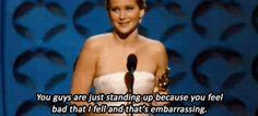 Jennifer Lawrence WINS BEST ACTRESS!