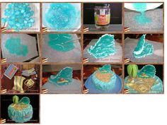 Step by step the ocean waves www. Cake Decorating Techniques, Cake Decorating Tutorials, Cookie Decorating, Cake Icing, Fondant Cakes, Cupcake Cakes, Fondant Figures, Cake Candy, Nautical Cake