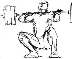 weightlifting drawing - Buscar con Google
