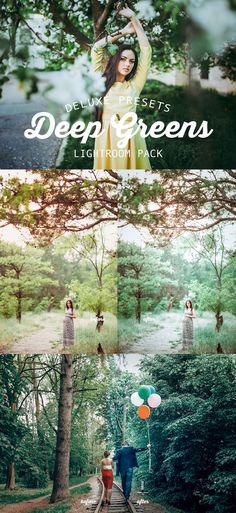#FREE Deep Greens #Lightroom Preset Pack is a pack of 6 #handmade Lightroom Presets. This Pack is used to enrich and enhance the greens and toning of your images. ( #photography #photographers #forest #mountains #wedding )