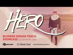 Trailer Hero - Blender Grease Pencil | notodoanimacion.es