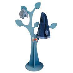 a fabriquer : Porte manteau arbre en bois 6 branches H.132 cm