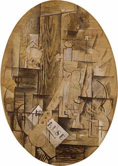 TICMUSart: The Clarinet - Georges Braque (1912) (I.M.)