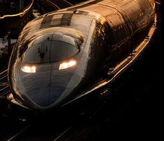 Rode the Shinkansen - ( Bullet Train ) - Japan Train Tracks, Train Rides, Locomotive, Japan Train, Old Steam Train, Tramway, High Speed Rail, Rail Transport, Bonde